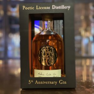 5th Anniversary Gin - Madeira Aged Cask Gin | Poetic License Distillery