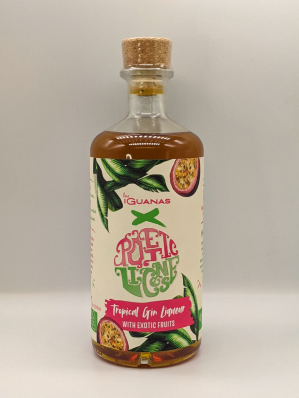 Poetic License x Las Iguanas Tropical Gin Liqueur