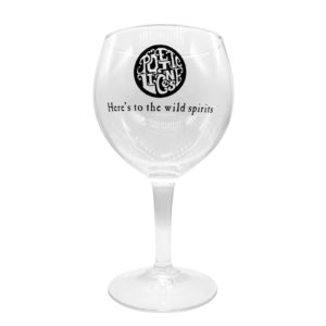 Poetic License Branded Glass
